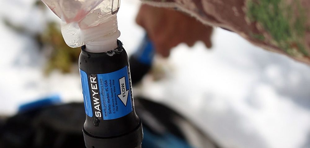The Sawyer Squeeze Water Filter